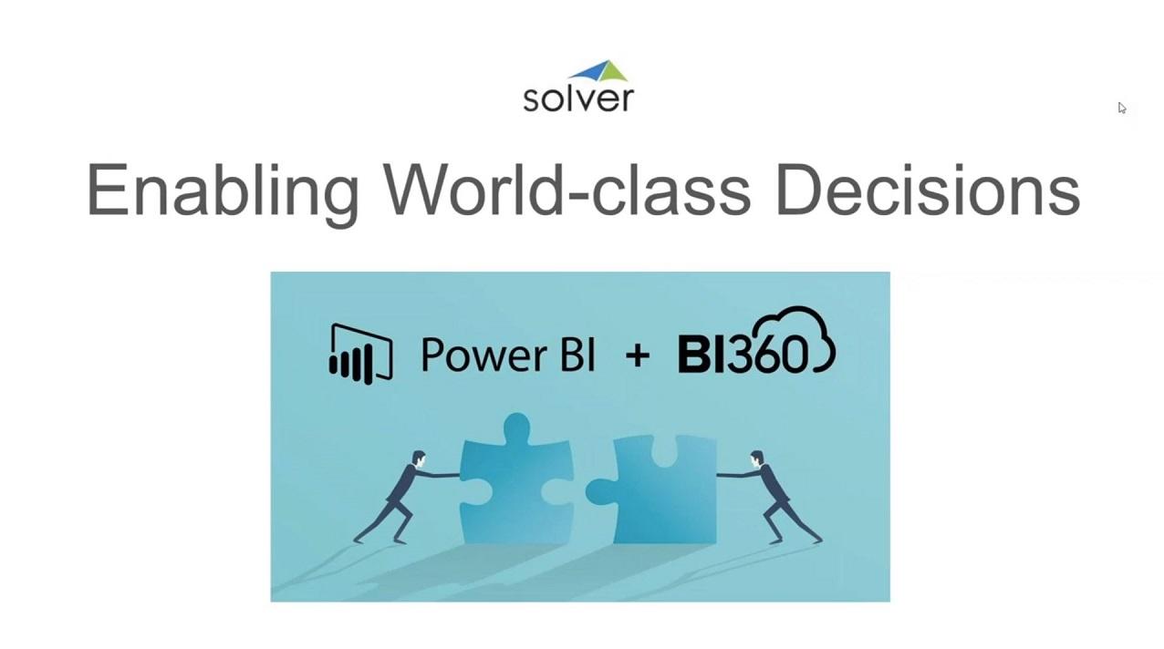 The Dynamic Duo: BI360 & Power BI