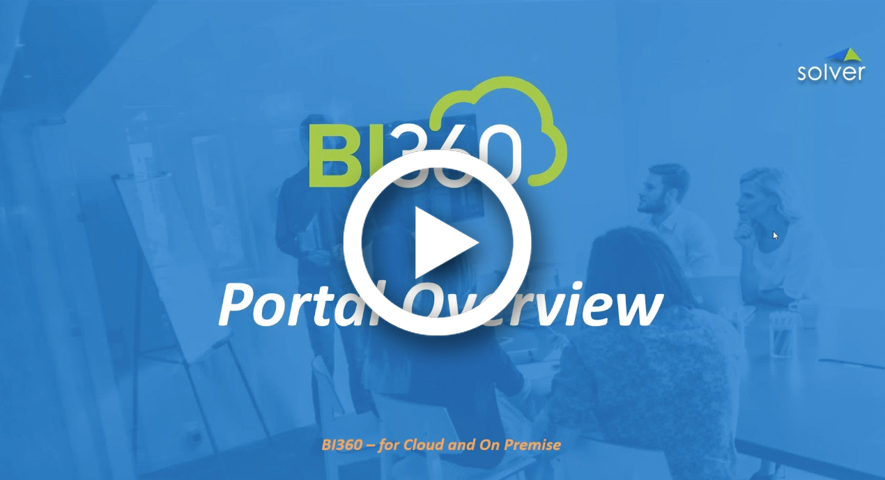 BI360 Budgeting Demo