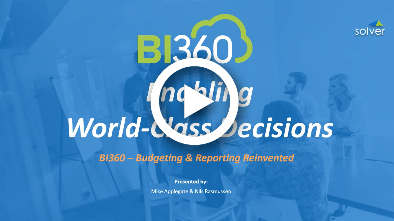 <p>BI360 Budgeting</p>