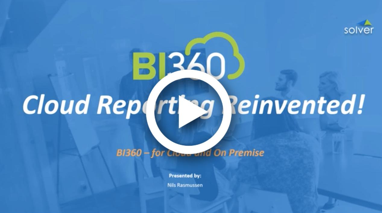 <p>BI360 Reporting</p>