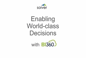 BI360 Management Reporter Replacement and Advanced Budgeting for Dynamics AX and Dynamics 365
