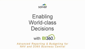 Advanced Budgeting and Reporting for NAV and Dynamics 365 Business Central