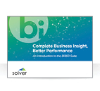 <p>Complete Business Insight, Better Performance An Introduction to the BI360 Suite</p>