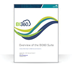 <p>Overview of Solver's BI360: A Powerful, Excel-based BI Solution (Whitepaper)</p>