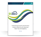 BI360 for Microsoft Dynamics 365 Business Central